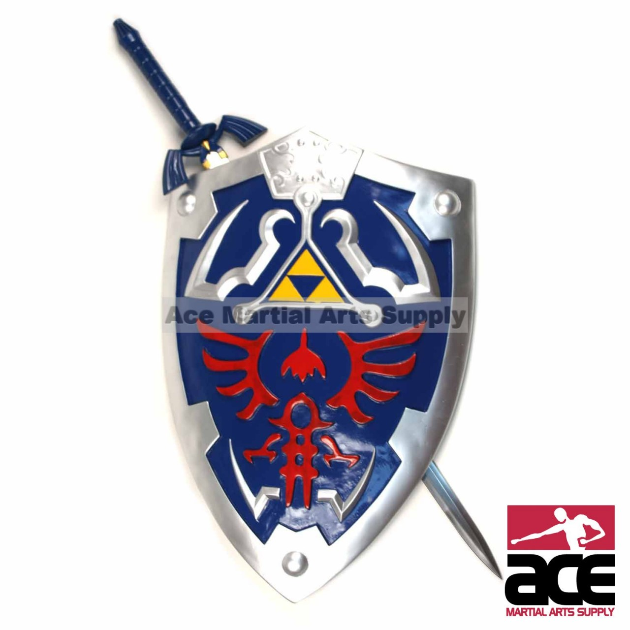 legend of zelda full size master sword hylian shield set