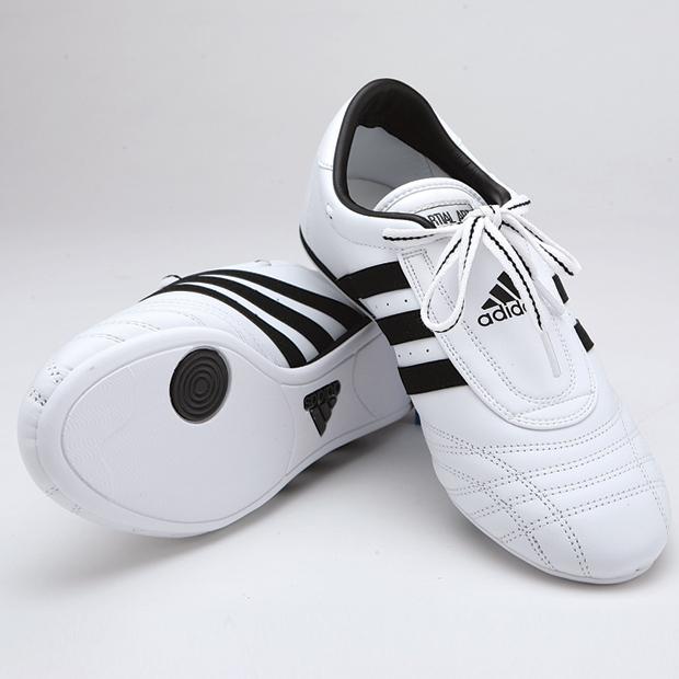 adidas ms ii scarpe, white w / strisce nere nel negozio di los angeles